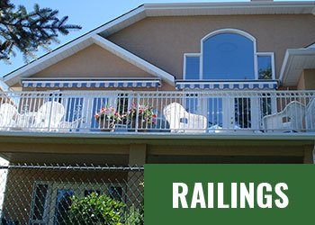 Mountain View Sun Decks - Railings