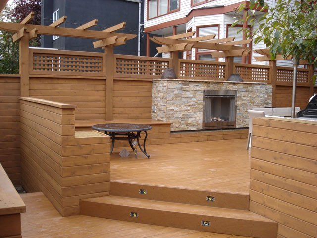Custom Decks Calgary - Mountain View Sun Decks