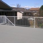 Deck Vinyl White Picket Railing System | Mountain View Sun Decks