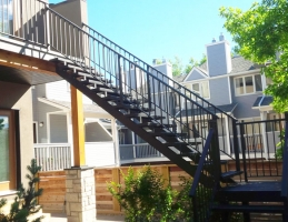 Mountain View Sun Decks stairs