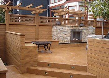 Wood Decks Calgary