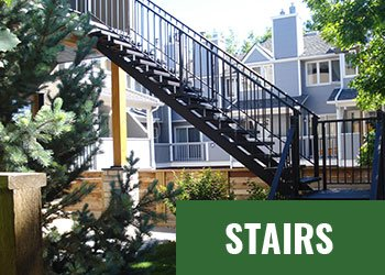 Mountain View Sun Decks - Stairs