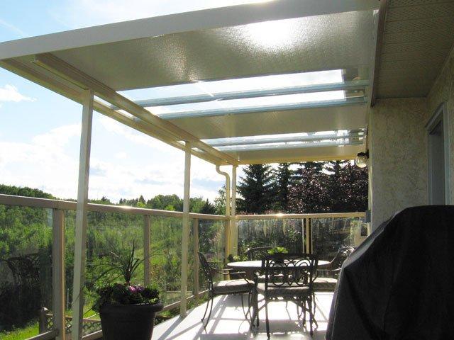 Deck Canopies Glass | Mountain View Sun Decks