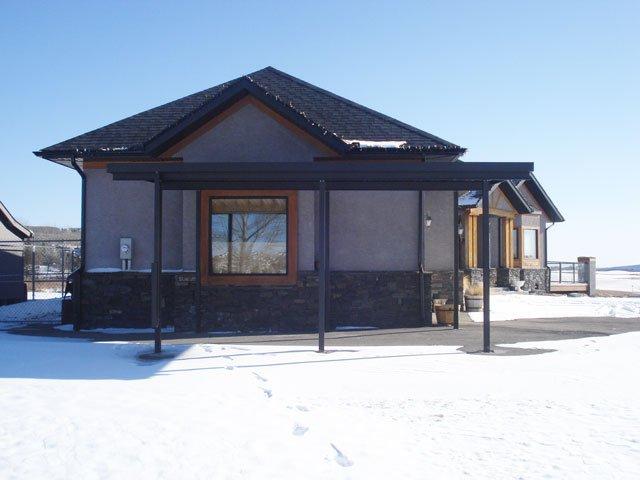 Deck Canopies Black Aluminum | Mountain View Sun Decks