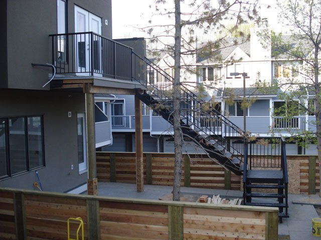 Multi-Level Stair System | Mountain View Sun Decks