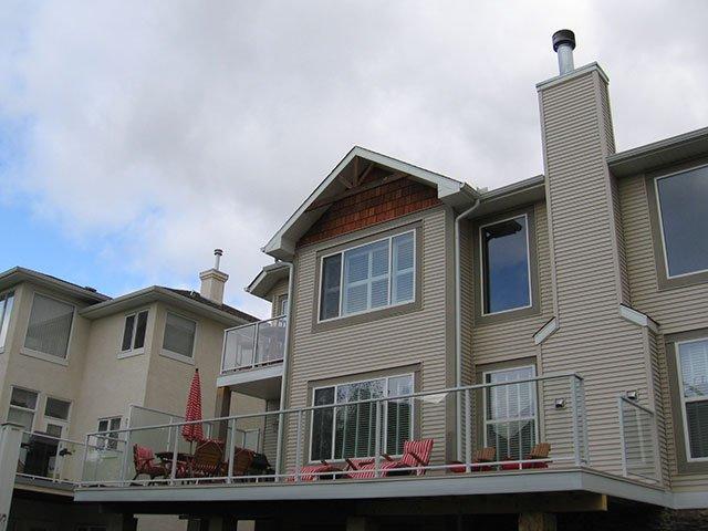 Deck Grey Aluminum Railing System   Mountain View Sun Decks