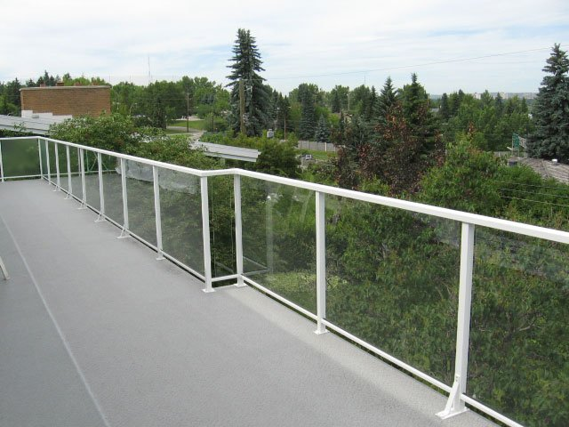 Railing Systems Custom White | Mountain View Sun Decks
