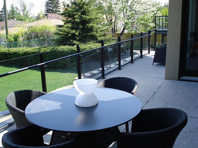 Railing Systems Glass And Picket   Mountain View Sun Decks