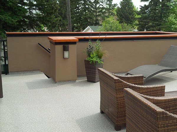 Vinyl Sun Deck Fully Furnished | Mountain View Sun Decks