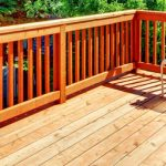 Wooden Sun Deck Wooden Picket Railings | Mountain View Sun Decks