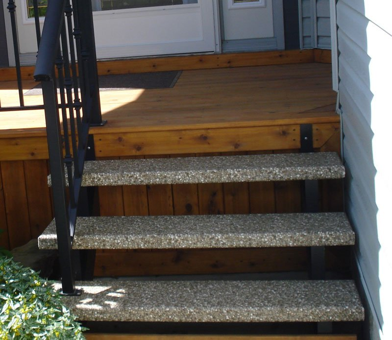 Granit Stairs | Mountain View Sun Decks