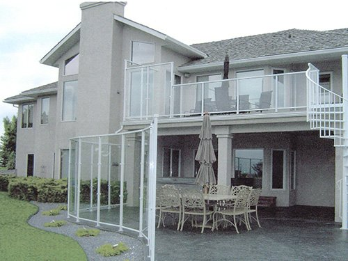 Aluminum Glass Railings
